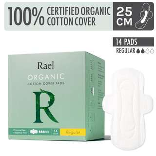 Rael Organic Cotton Cover Pads - Regular