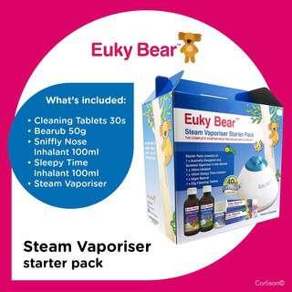 Euky Bear Steam Vaporiser Starter Kit