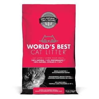World's Best Cat Litter Multiple Clumping