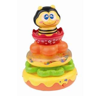 Hap-P-Kid Little Learner Honey Bee Stacking Rings
