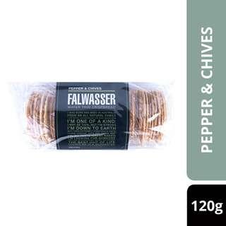 Falwasser Crispbread Pepper And Chives-By Culina