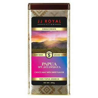 JJ Royal Coffee Papua 100% Arabica (Ground)