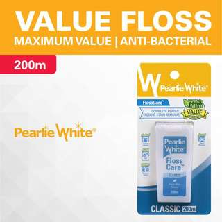 Pearlie White FlossCare Waxed Mint Floss