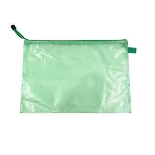 VIP Mesh Zipper Bag - Green A4