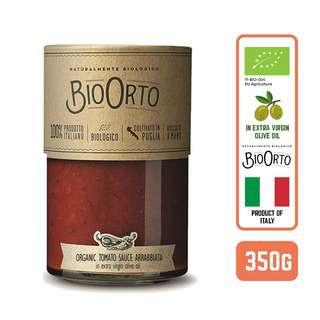 BIOORTO ORGANIC PASTA SAUCE - ARRABBIATA ITALY 350G