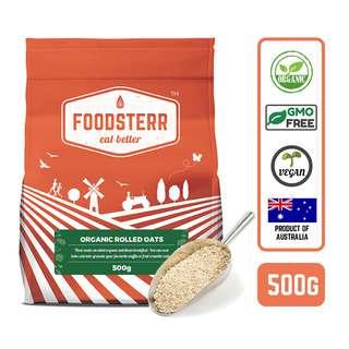 Foodsterr Australian Organic Rolled Oats