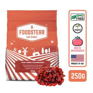 Foodsterr USA Ruby Dried Cranberries