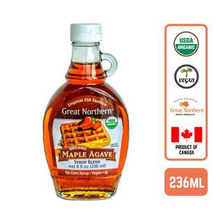 Great Northern Organic Maple Agave Syrup- by Foodsterr