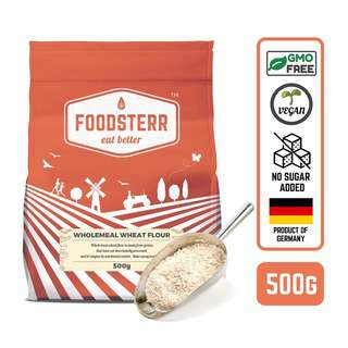 Foodsterr German Wholemeal Wheat Flour