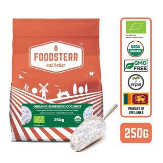 Foodsterr Organic Shredded Coconut