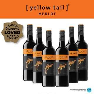 Yellow Tail Merlot - Red Wine - Case
