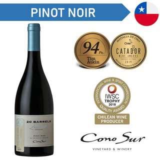 Cono Sur 20 Barrels Pinot Noir - Red Wine