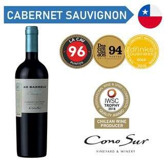 Cono Sur 20 Barrels Cabernet Sauvignon - Red Wine