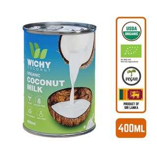 WICHY Organic Coconut Milk - by Foodsterr