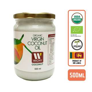 Wichy Organic Coconut Oil Virgin Cold Press- by Foodsterr