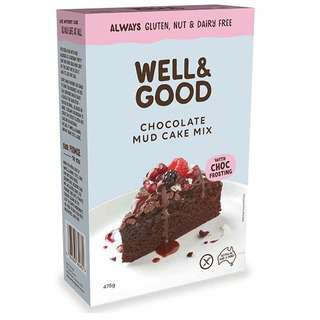 Naturally Good Deliciously Free Moist Chocolate Mud Cake Mix