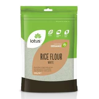 Lotus Organic White Rice Flour