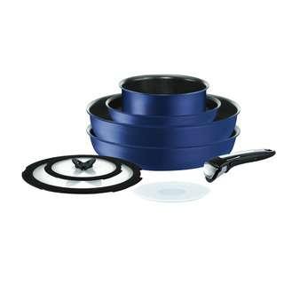 Tefal Ingenio Expertise Blue 8pcs Set L67290