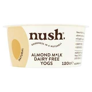 Nush Vegan Natural Almond Dairy Free Yoghurt