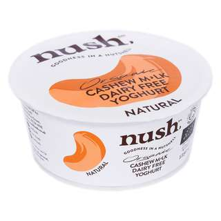 Nush Vegan Natural Organic Cashew Milk Dairy Free Yoghurt