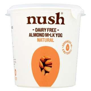 Nush Natural Vegan Almond Milk Dairy Free Yoghurt