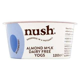 Nush Vegan Blueberry Almond Milk Dairy Free Yoghurt