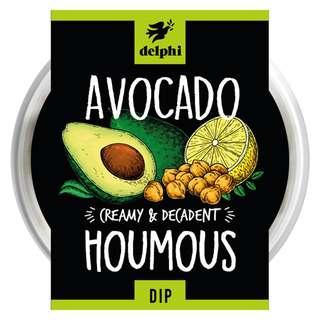 Delphi Fresh Avocado Hummus Dip Gluten and Dairy Free Vegan