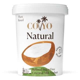 COYO Dairy Free Organic Natural Coconut Milk Yogurt