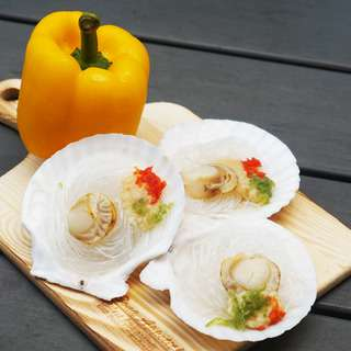 Catch Seafood Garlic Scallop With Vermicelli (Frozen)