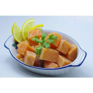 Catch Seafood Salmon Cube (Frozen)
