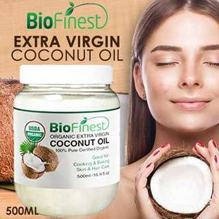 Biofinest Extra Virgin Coconut Oil - Organic Pure Cold-Pressed