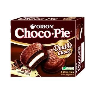 Orion - Double Choco Pie 12 Pcs