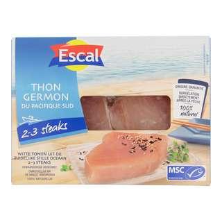 Escal Fidji/Cook Islands Tuna Steak Skinless (Msc) - By Culina