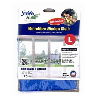 Steve & Leif Microfiber Window Cleaning Cloth
