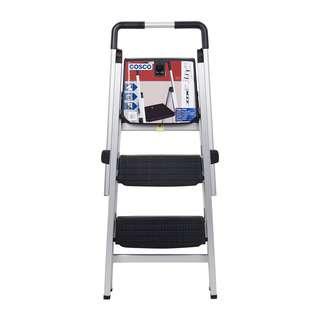 Cosco 3 Steps Aluminium Ladder (Magicfold Adjustable)