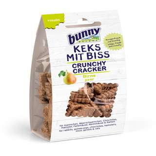 Bunny Nature Crunchy Crackers - Pear