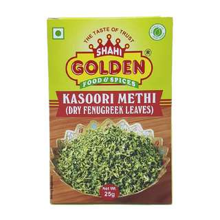 Shahi Golden Kasoori (Kasuri) Methi (Dry Fenugreek Leaves)
