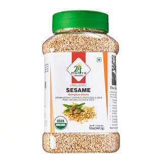 24 Mantra Organic White Sesame Bottle