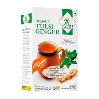 24 Mantra Organic Tulsi Ginger Tea Loose