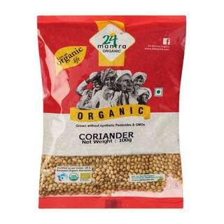 24 Mantra Organic Coriander Seeds