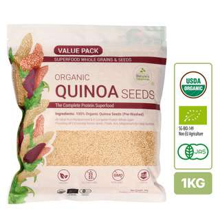 Nature's Superfoods Organic White Quinoa Seeds