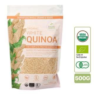 Nature's Superfoods Organic White Quinoa Seeds