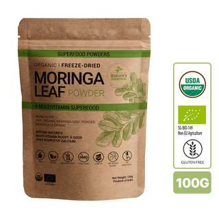 Nature's Superfoods Organic Raw Moringa Leaf Powder