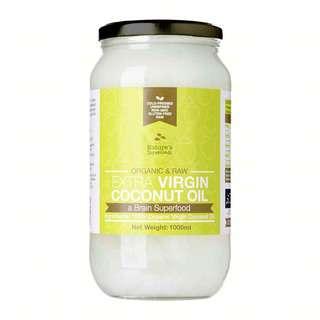 Nature's Superfoods Organic Extra Virgin Coconut Oil(glassjar)
