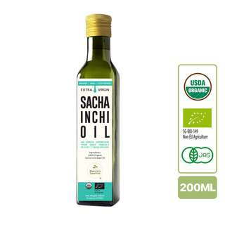 Nature's Superfoods Organic Cold-Pressed Sacha Inchi Seed Oil