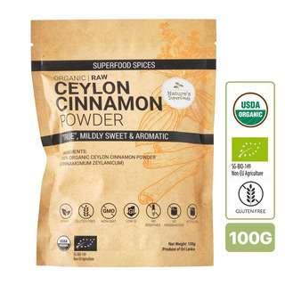Nature's Superfoods Organic Ceylon Cinnamon Powder