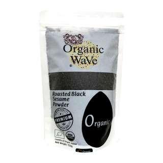 Organic Wave Organic Roasted Black Sesame Powder