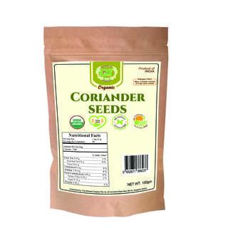 Gabrielle T Organic Coriander Seeds