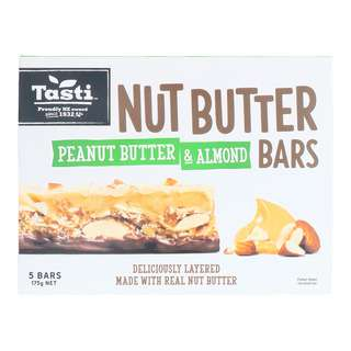 Tasti Nut Peanut Butter & Almond Bars