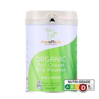 AwaRua Organics Organic Whole Milk Powder